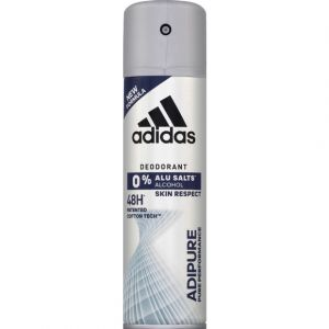 Adidas Déodorant skin respect adipure pure performance - Le spray de 200ml