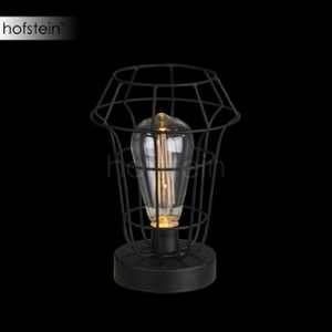 Globo Lampe de table DEL luminaire éclairage LED alimentation sur piles décoration chambre