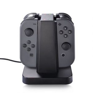 Joy Con Station De Charge, 4 En 1 Support De Recharge Pour Nintendo Switch