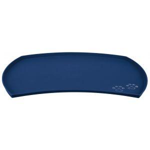 Trixie Set de table en silicone - 48 × 27 cm - Bleu - Pour chien