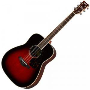 Yamaha FG830 TBS Tobacco Brown Sunburst guitare folk