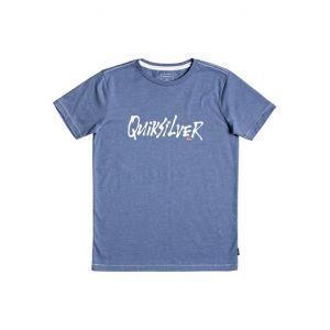 Quiksilver Scriptural - T-shirt pour garçon 8-16 ans - Bleu
