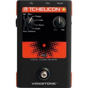 TC-Helicon VoiceTone R1 - Pédale reverb pour voix