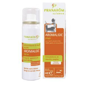 Pranarôm Aromalgic articulations et muscles souples - Spray 50 ml