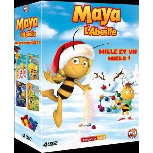 Coffret 3D Maya l'abeille Mille et un miels - 4 DVD Volumes 5 à 8