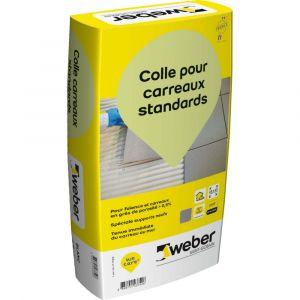 Weber Colle pour carreaux standards gris 25 kg 11101695