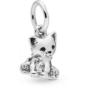 Pandora Charms Animaux 798011EN16 - Pendant Adorable Chaton en Argent