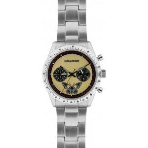 Zadig & Voltaire ZVM121 - Montre mixte avec bracelet en acier