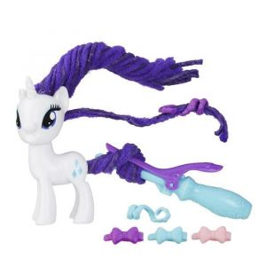 Hasbro My Little Pony Rarity Coiffure tendance