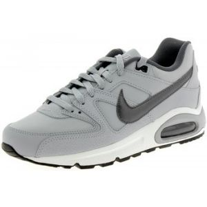 Nike Air Max Command Leather, Baskets Homme, Gris (Wolf Grey/Metallic Dark Grey-Black-White 012), 46 EU