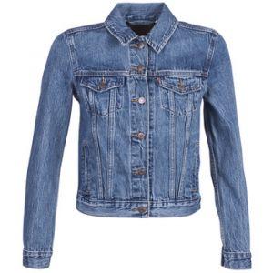 Levi's Original Trucker Veste en Jean, Bleu (Soft As Butter Dark 0063), X-Small Femme