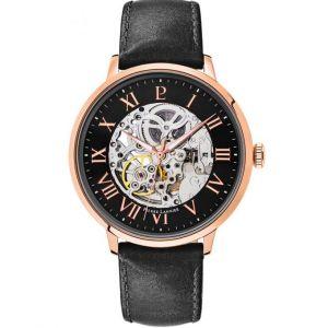 Pierre Lannier 323B433 - Montre pour homme avec bracelet en cuir