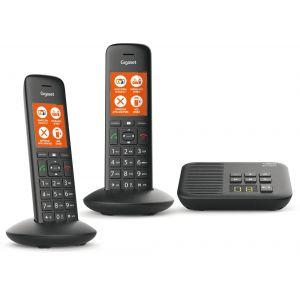 Gigaset C570A Duo - Téléphone sans fil avec répondeur