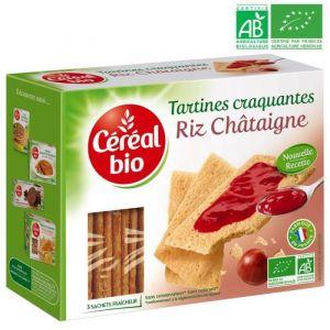 Céréal bio Tartines craquantes, spécialités céréalières à la châtaigne Bio - 145 g