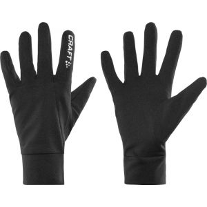 Craft Thermal Gloves, black XS Gants & Manchettes running