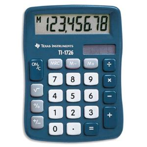 Texas instruments TI-1726 - Mini calculatrice de bureau