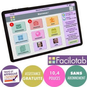 Tablette tactile Facilotab L Galaxy WiFi 2019