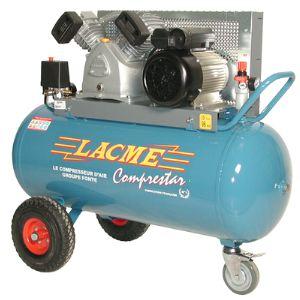 Lacme Comprestar 20 V 100 M - Compresseur à courroie monophasé 20 m³/h sur cuve 100 litres (122400)
