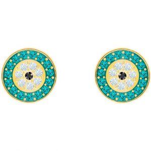 Swarovski Boucles d'oreilles 5468914 - Boucles d'oreilles ?il Vert d'Eau