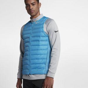 Nike Veste sans manches de golf AeroLoft pour Homme - Bleu - Taille XL - Male