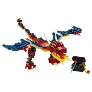 Lego Le dragon de feu - Creator - 31102