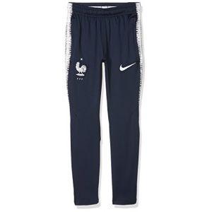 Nike Pantalon de football FFF Dri-FIT Squad Enfant plus âgé - Bleu - Taille S