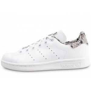 Adidas Stan Smith Imprimé Zèbre Blanche Et Noire Baskets/Tennis Enfant