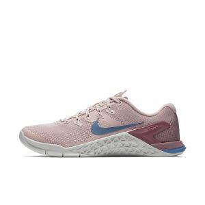 Nike Chaussure de cross-training et de renforcement musculaire Metcon 4 pour Femme - Crème - Taille 41