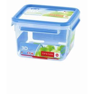 Emsa 508537 - Boîte alimentaire carré hérmétique Clip & Close 3D en plastique (1,75 L)