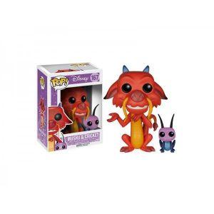 Funko Figurine Pop! Disney Mulan Mushu et Cricket 10 cm