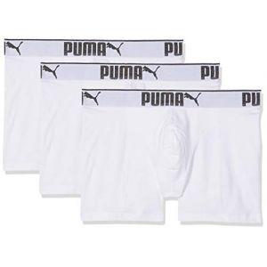 Puma Vêtements intérieurs -underwear Lifestyle Sueded 3 Pack - White - M