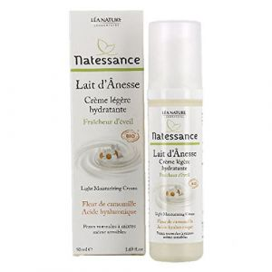 Natessance Crème légère hydratante lait d'ânesse bio 50ml