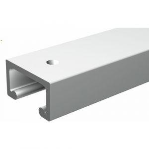 mantion rail minitub aluminium section 16x9mm longueur 2m 1609200