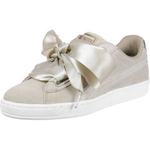 Puma Suede Heart Safari, Basket Mode Femme, Beige (Safari-Safari), 41 EU
