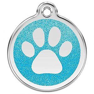 RedDingo Médaille Turquoise Patte Modeles:Moyen modèle
