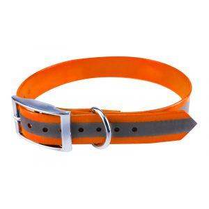 Supersteed Collier réfléchissant pour chien ajustable - 250-370 mm, orange