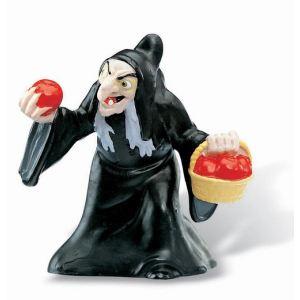 Bullyland Figurine Sorcière et panier de pommes empoisonnées (Blanche Neige)