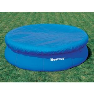 Bestway 58035 - Bâche 4 saisons pour piscine autoportante ronde Fast Set Ø 457 cm