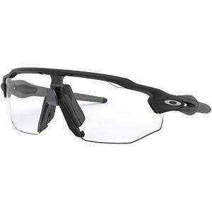 Oakley Lunettes femme radar ev advancer matte black clear black iridium photochromic ref oo9442 0638