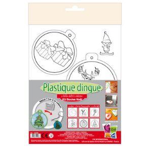 PW International Kit plastique dingue : Boules Noël