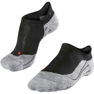 Falke RU4 Invisible - Chaussettes course à pied Femme - gris/noir EU 41-42 Chaussettes Running