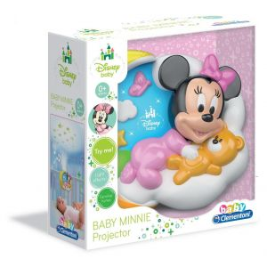 Clementoni Projecteur Baby Minnie Magic Stars