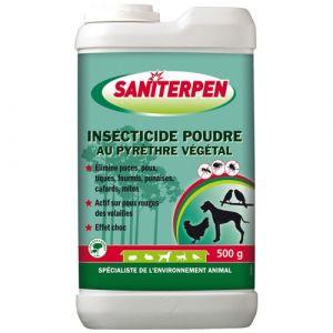 Saniterpen Insecticide poudre au pyrethre végétal 500g