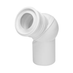 TYC Pipe coudée de WC orientable diamètre 110mm boule