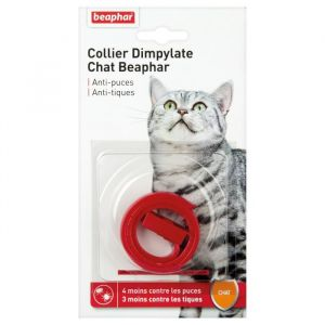 Beaphar Collier antiparasitaire Dimplylate pour chat