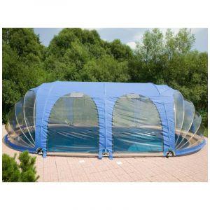 Poolmarina Abri Mobile de Piscine Azuro FitMarina Ovale 4.1 x 10 x 2.2 m