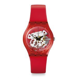 Swatch Montre Femme Gent Rouge