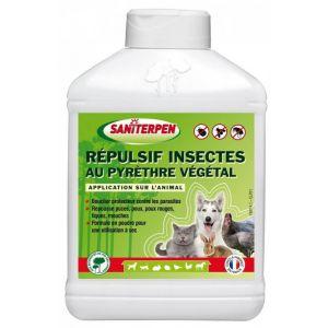 Saniterpen Répulsif insectes pour animaux - pyrèthre végétal - 200 g
