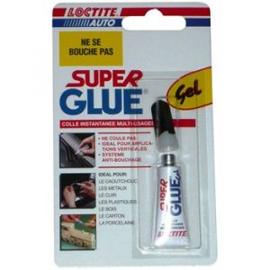 Loctite Super glue gel mutli-usages 3 g
