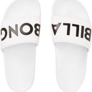 Billabong Tongs Claquettes blanches avec imprimé noir Legacy Noir - Taille 39